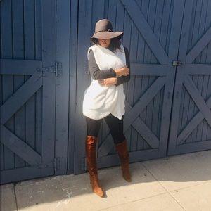 NEW🎈Oversized Black soft Sherpa vest